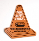 Promotional products: Safety Cone Flexible Magnet