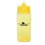 Promotional products: 24 Oz. Polysure™ Squared-up Bottle