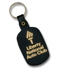 Promotional products: Round Rectangle Flexible Key-tag