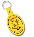 Promotional products: Oval Flexible Key-tag