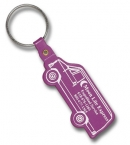 Promotional products: Van Flexible Key-tag