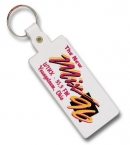 Promotional products: Rectangle Flexible Key-tag