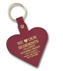 Promotional products: Heart Flexible Key-tag