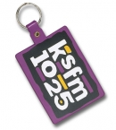 Promotional products: Large Rectangle Flexible Key-tag