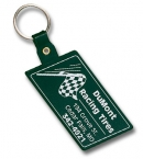Promotional products: Slanted Rectangle Flexible Key-tag