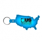 Promotional products: United States Flexible Key-tag
