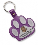 Promotional products: Paw Flexible Key-tag