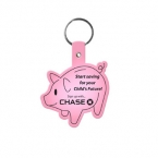 Promotional products: Piggy Bank Flexible Key-tag