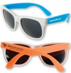 Promotional products: Neon Sunglasses - White Frame