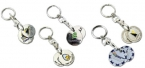 Promotional products: Shopping cart coins / key chains
