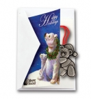 Promotional products: Holiday wishes 2 3/8� x 3 3/8�