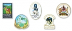 Promotional products: Foto color lapel pins