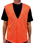 Promotional products: Mesh vest snap closure