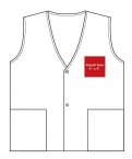Promotional products: Nylon vest snap closure