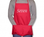 Promotional products: Twill econo apron 2 pkts