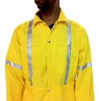 Promotional products: Twill Reflective Coverall