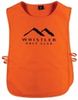 Promotional products: Poplin Caddy Bib 2 Pockets