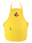 Promotional products: Kids Twill Bib Apron 2 Pkts 4 to 9 Years