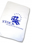 Promotional products: Micro Suede WhiteTowel 12x18