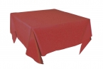 Promotional products: Silken table throw for square table 48x48