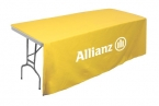 Promotional products: Table throw for 6' table (Open Sides & Back)