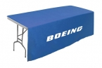 Promotional products: Table throw for 8' table (Open Sides & Back)