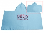 Promotional products: Velour Colored Hooded Towel
