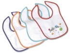 Promotional products: Velour Mini Baby Bib 7x9