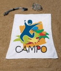 Promotional products: Velour Towel 22x44