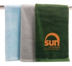 Promotional products: Velour Colored Towel 15x25