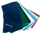 Promotional products: Sheared Velour Colored Towel 16x25