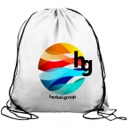 Promotional products: The Graduate - Drawstring Backpack - Digital