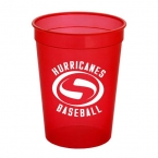Promotional products: Cups-On-The-Go - 12oz. Trans. Stadium Cup