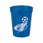 Promotional products: Cups-On-The-Go -16 oz. Transparent Stadium Cup