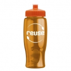Promotional products: Poly-pure - 27 Oz. Transparent Bottle