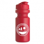 Promotional products: The Eco-cyclist - 21 Oz. Bike Bottle (flip Lid)