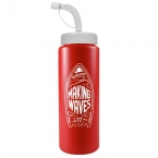 Promotional products: The Sports Quart - 32 Oz Bottle (straw Lid)