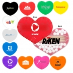 Promotional products: Heart Shaped Pick N Mints
