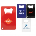 Promotional products: Credit Card Bottle Opener