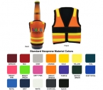 Promotional products: Neoprene Safety Vest Stubby Cooler