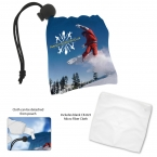 Promotional products: Micro Fiber Pouch and Cloth
