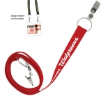 "Promotional products: 3/4"" Econo Dual Attachment Lanyard"