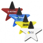 Promotional products: Star-Shaped Magnetic Clip