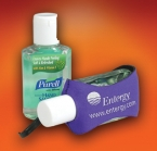 Promotional products: 2oz purell w/aloe in a clip