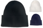 Promotional products: Rib knit cuff toque, 100% acrylic, made in canada