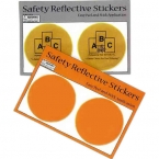 Promotional products: Round reflective safety stickers