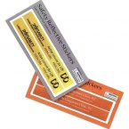 Promotional products: Rectangular safety stickers