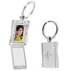 Promotional products: Rhinestone photo keytag