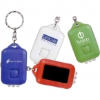 Promotional products: Solar powered lcd keytag
