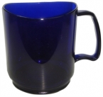 Promotional products: Stax 14oz cobalt mug